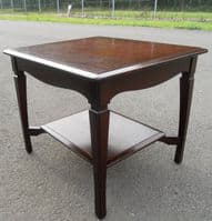 Stag Two Tier Mahogany Coffee Table - SOLD
